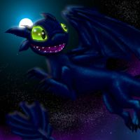 Toothless the Night Fury by Urnam-BOT