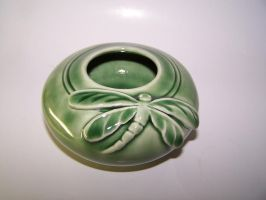 Celadon Dragonfly Bowl 3 by RenaissanceMan1