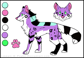 Scene Doge (CLOSED) by Neon-Spots-Adopts