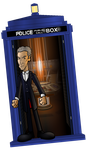 12th Doctor in the TARDIS by CPD-91