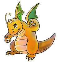 Dragonite by SilverdragonKathy