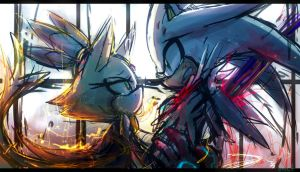 im sorry Blaze...i can't save the future... by Omiza