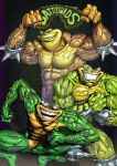Battletoads Color by ANDREYGORKOVENKO