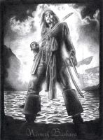 Captain Jack Sparrow by Kiwy