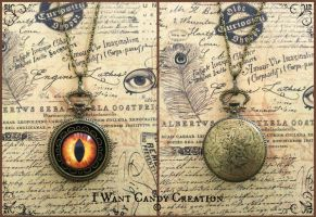 HANDMADE - Pocket Watch by IWantCandyCreation