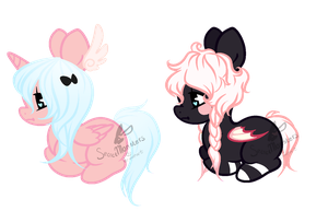 A cheap adopt and a less cheap adopt by SecretMonsters