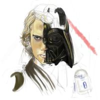 Anakin yet again WIP by Drkmagician83