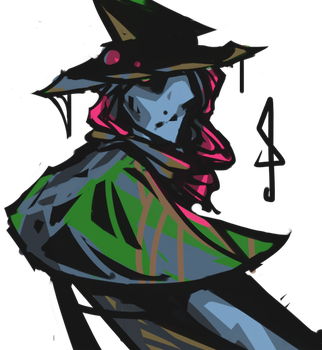 Witch Project Concept Art - Witch by ArnarTheWriter