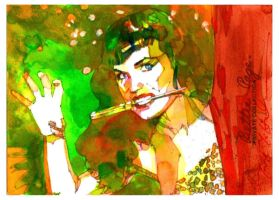 Bettie Page 3 by markmchaley