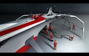 Lockheed XFRS NVart Contest by Vincent-Montreuil