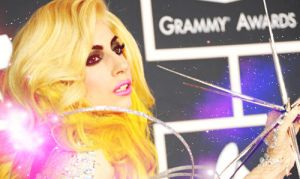 GaGa At The Grammys by AmongTheDistantStars