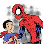 Spiderman and kid by lroyburch