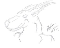 get char(2011_first tablet sketch) by WolvieSyxx