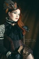 Steampunk Aristocrat by RottenRagamuffin