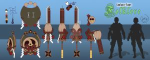 My MH4G weapon contest entry by Kitsu-DR