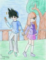 A walk in the park by animefangurl