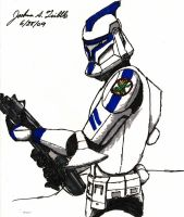 Clone Trooper Test by Tribble-Industries