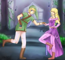Link, Come Dance by Xylerz
