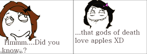 Death note rage comic by Sweetycoolcoolc
