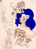 Playful kitten- Felicia by jesschan
