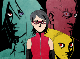 Naruto: Fans With Red Eyes 3 by Gintara