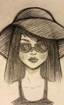 sun hat by modestartist20