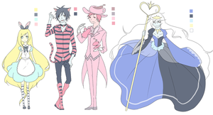 Adventure Time +Alice+ by DevilPink
