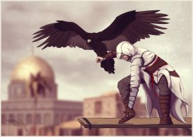 .AC- Altair Fanart. by Atterimus