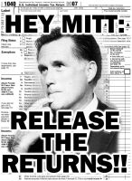 HEY MITT: RELEASE THE RETURNS!! by JoeStrike