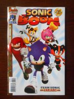 SB Comic Issue 3 by BoomSonic514