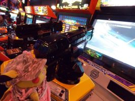 Chula Packing Heat by pikabellechu