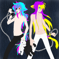 The Misfit Twins by ironwitch