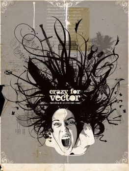 CRAZY FOR VECTOR by AtixVector