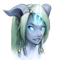 draenei sketch 1 by Etherpendant