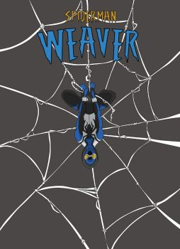 Spiderman Weaver Comic cover by KGH786