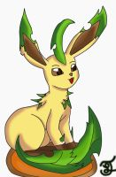 Leafeon by edwardismyBF