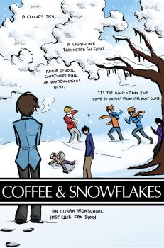 Coffee and Snowflakes pg. 3 by pippinsgirl