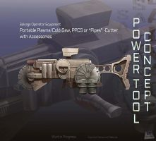 A power tool concept by Undermound