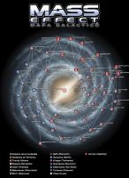 Mapa Galactico Mass Effect by Engorn