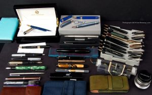 Year n' a Half Later - Fountain Pens by KBeezie
