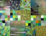 Green Squares by wlkr