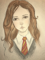 Melancholy of Hermione 2013 by Niranis
