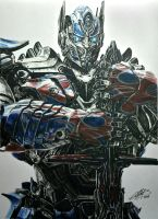 Optimus Prime by AndresBellorin-ART