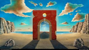 Arch Gate by Tesparg