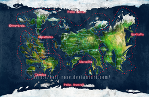 Pale Terram Countries and continents by half-rose