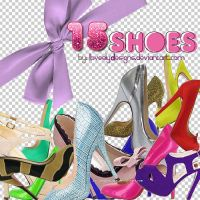 15 Png Shoes by loveelydesigns