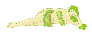 tired ivy and sleepy lime by tenchibaka