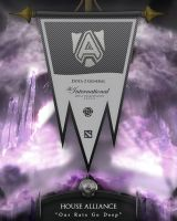 Dota2 TI4 Banners - Alliance by goldenhearted