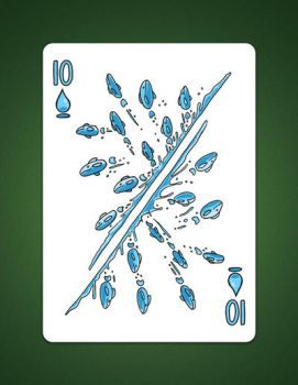 10 Of Spades 10 of Water by LineDetail