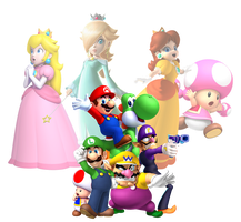 Super Mario Characters 2013 by Legend-tony980